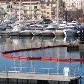Barrage filtrant MES et anti-turbidités déployé dans le port