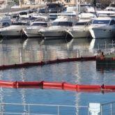 Barrage anti-turbidités filtrant adapté pour les travaux maritimes