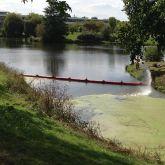 Barrage débris flottants