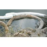 Barrage absorbant pour hydrocarbures en fibres de polypropylène